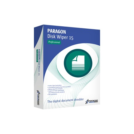 Paragon Disk Wiper 15 Professional