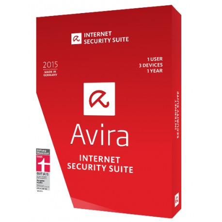 Avira Internet Security Suite یک کاربر