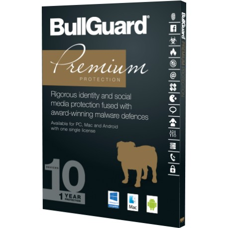 BullGuard Premium Protection 10 Device