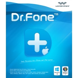 Wondershare Dr.Fone for iOS - Windows