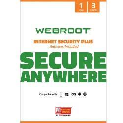 Webroot Internet Security Plus سه کاربر