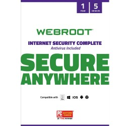 Webroot Internet Security Complete with Antivirus Protection