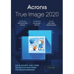 Acronis True Image 2017 یک کاربر